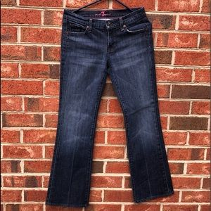 7 For All Mankind Jeans Pink Stitching